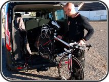 Bikes collected from John O'Groats or dropped off with us in Inverness - click to zoom